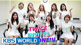 [2017 K-Pop World Festival in Changwon] Message from TWICE!!! 관련 이미지